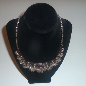 Jewelry - Costume Chunky Gold Silver Color Necklace